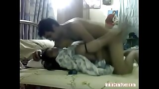 Indian couple fucking each other like crazy