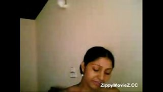 Cute teen Malini showing her untouched melons